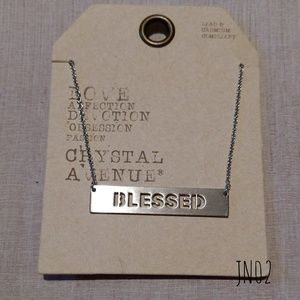 Jewelry - ✨BOGO SALE NWT Blessed Necklace